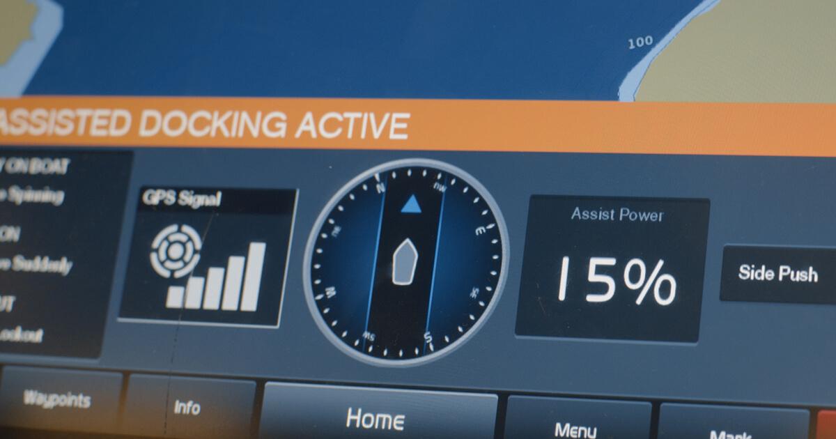 Volvo Penta Assisted Docking